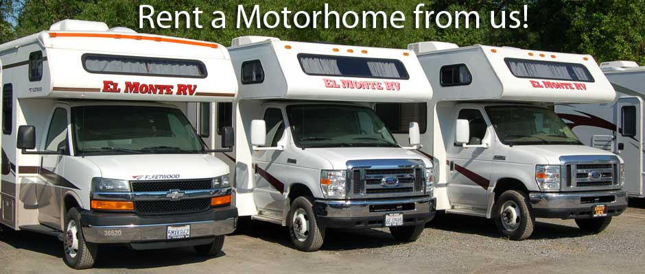 Rent a Motorhome With Us