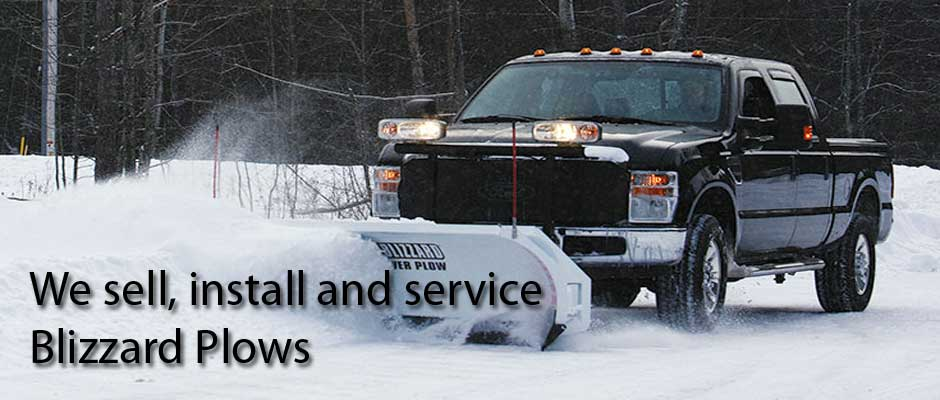 We sell, install and service Blizzard Snow Plows